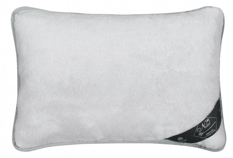 Vlněný polštář 40 x 60 cm šedý uni - Alpaka