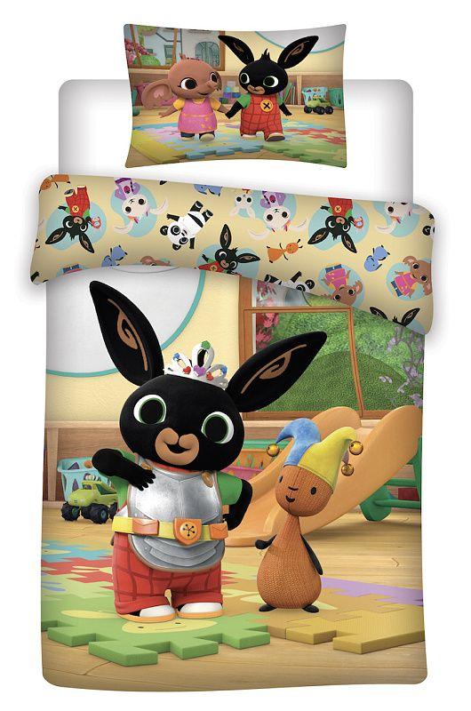 Disney povlečení do postýlky Králíček Bing baby Jerry Fabrics