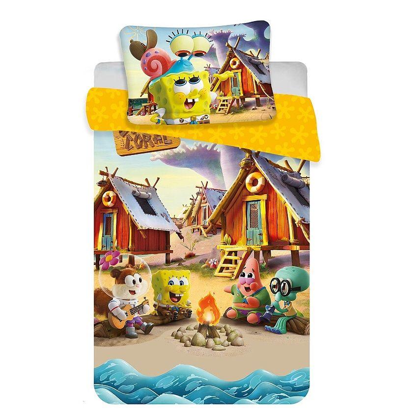 Disney povlečení do postýlky Sponge Bob baby Jerry Fabrics