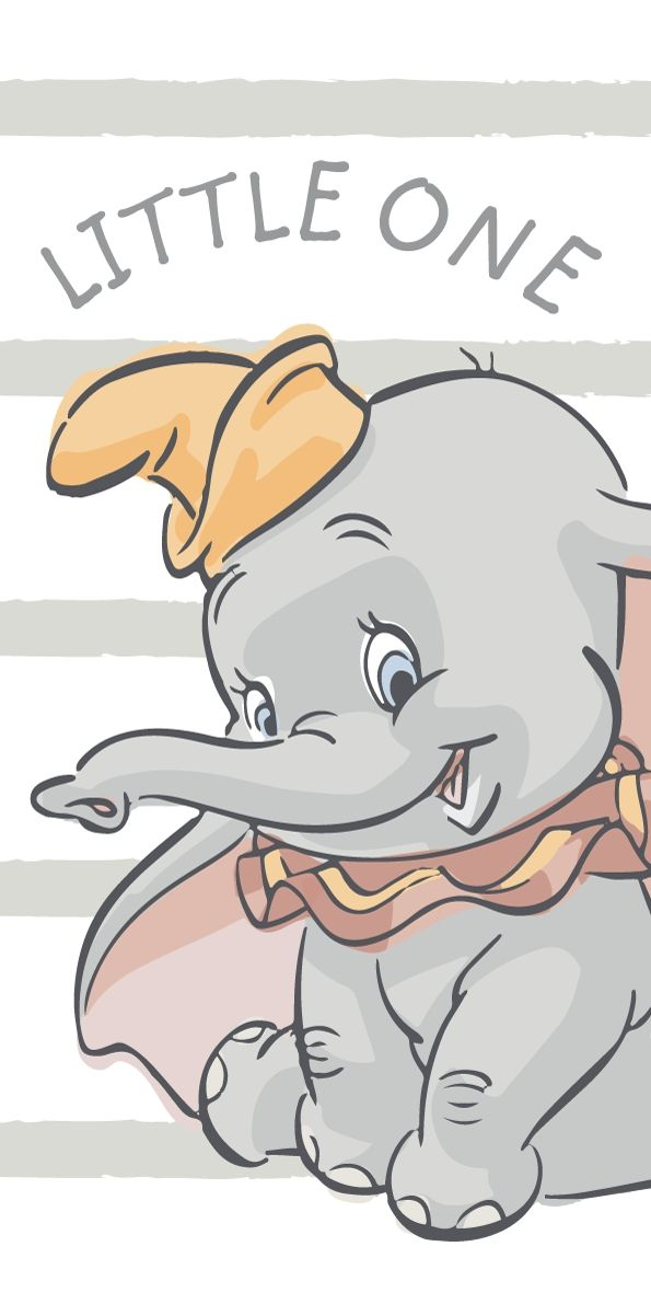Osuška Dumbo stripe little 70x140 cm Jerry Fabrics