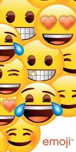 Osuška Emoji 70x140 cm