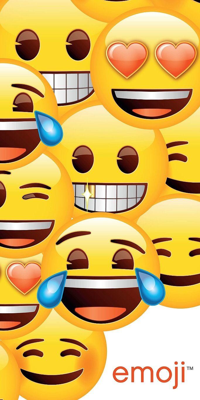 Se smailíky pestrobarevná kvalitní plážová osuška Emoji, Jerry Fabrics