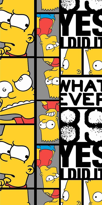 Plážová osuška pro milovníky Simpsonových Bart 89 Jerry Fabrics