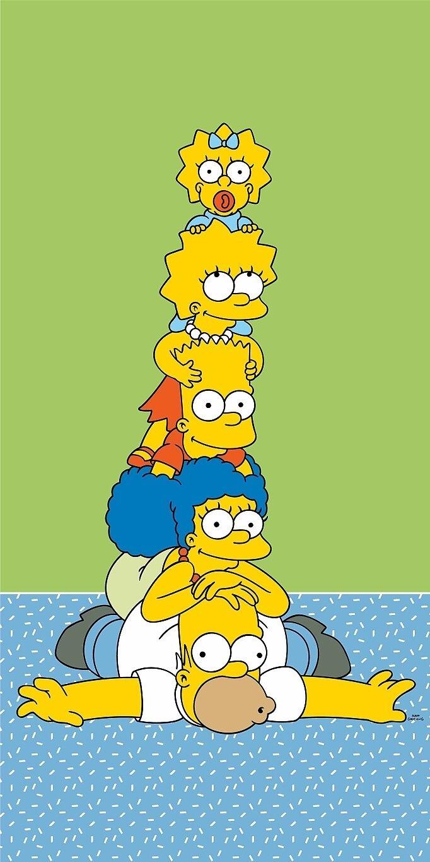 Osuška Simpsons family tower 70x140 cm Jerry Fabrics