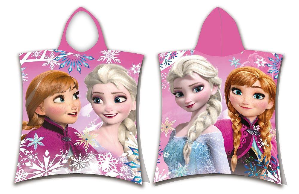 Pončo Frozen sisters Jerry Fabrics