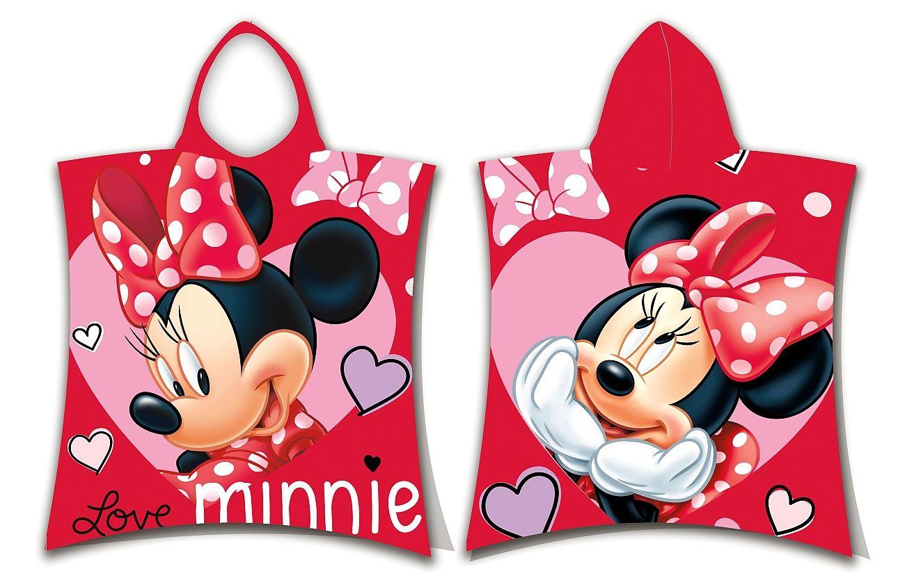 Pončo Minnie love Jerry Fabrics