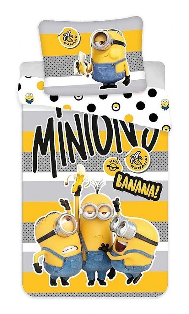 """Povlečení bavlna Mimoni 2 """"Banana!"""" Jerry Fabrics"""