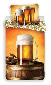Bavlněné povlečení fototisk Pivo