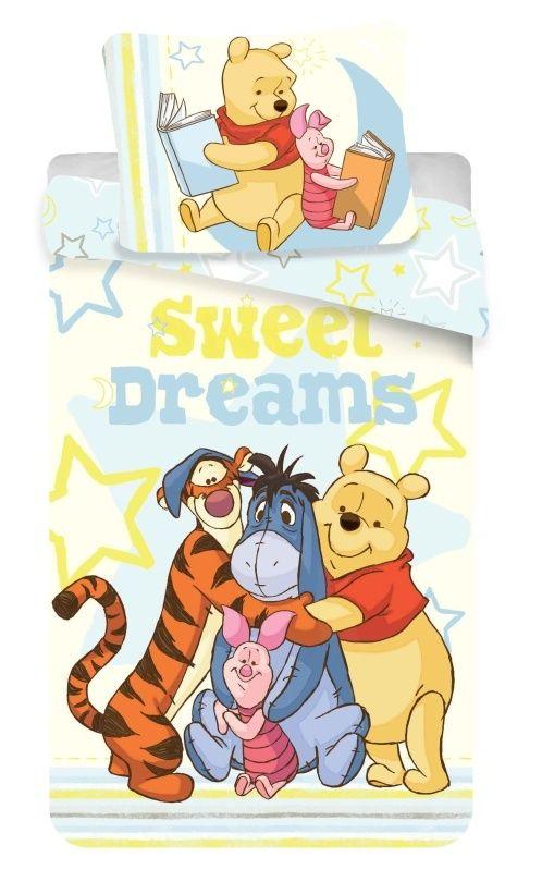 Kvalitní dětské bavlněné ložní povlečení Medvídek Sweet dreams, Jerry Fabrics