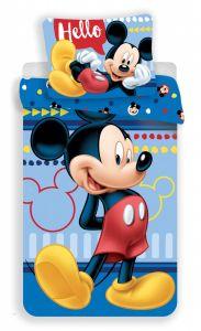 Bavlněné povlečení Mickey 004 Hello