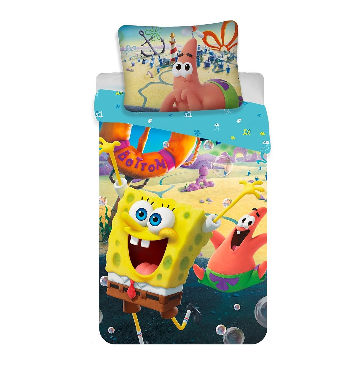 """Povlečení Sponge Bob """"Movie"""" Jerry Fabrics"""