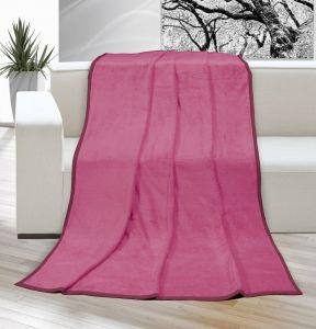 Deka Korall micro jednobarevná růžová Kvalitex