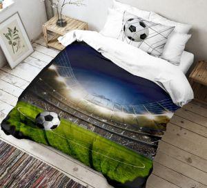 Bavlněné 3D povlečení pro všechny fotbalisty, | 140x200, 70x90 cm
