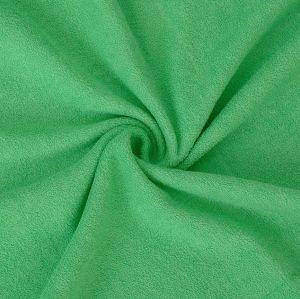 Froté prostěradlo zelené