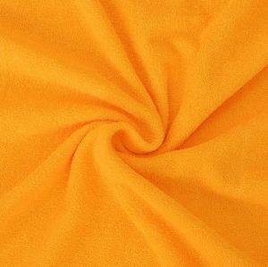 Froté prostěradlo sytě žluté