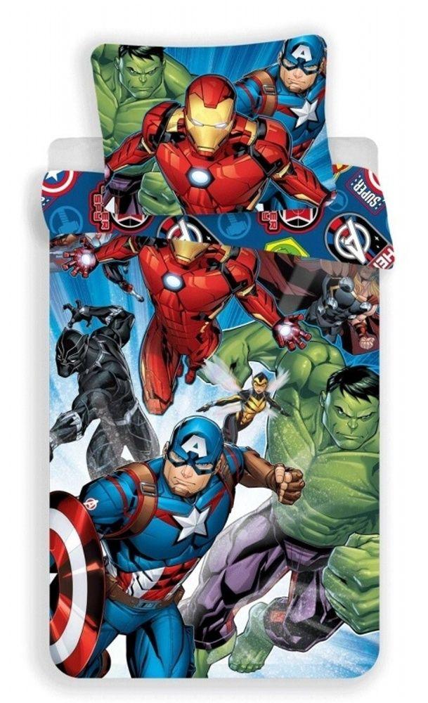 Povlečení Avengers Brands Jerry Fabrics