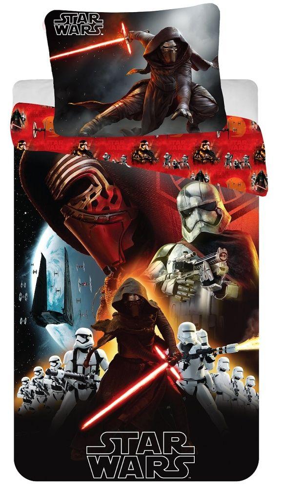 Kvalitní dětské bavlněné ložní povlečení Star Wars VII 2016, Jerry Fabrics