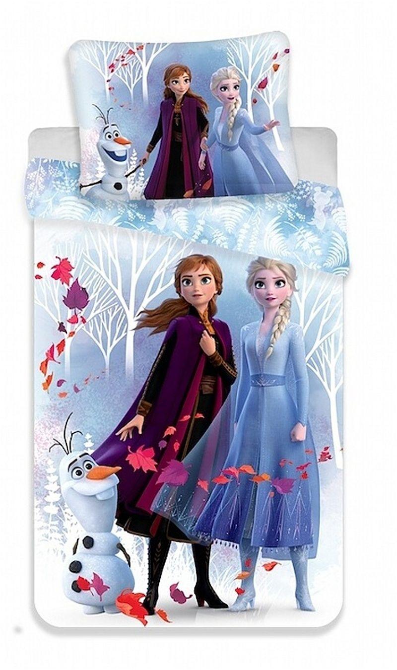 Krásné povlečení pro Vaše holčičky Frozen 2 White, Jerry Fabrics