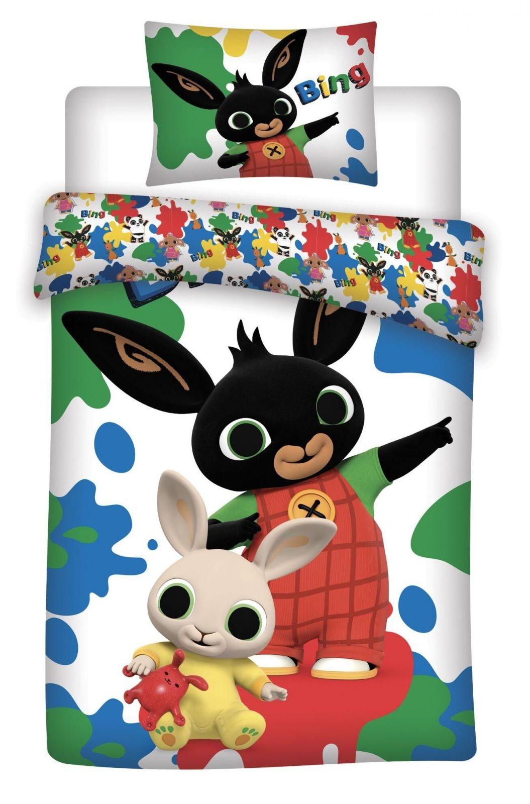 Bavlněné dětské povlečení Králíček Bing 066, Jerry Fabrics