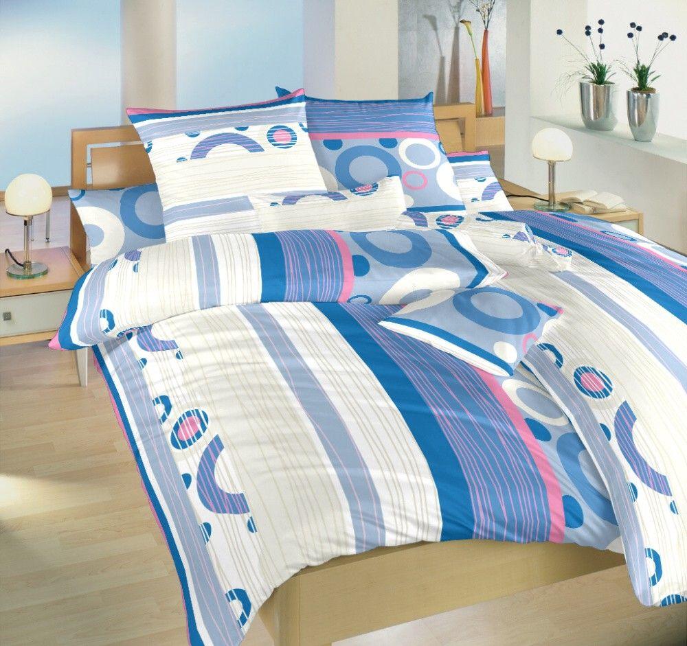 V kombinaci barev bílé a modré pěkné krepové ložní povlečení Lipo modré, Dadka