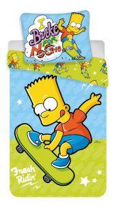 Povlečení Simpsons Bart skate 03
