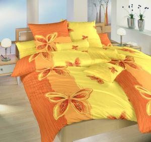 Bavlněné povlečení Motýl žlutý