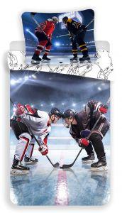 Bavlněné povlečení fototisk Hokej