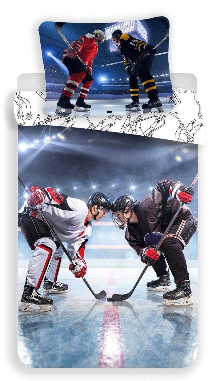 Bavlněné povlečení pro všechny fanoušky ledního hokeje, Jerry Fabrics