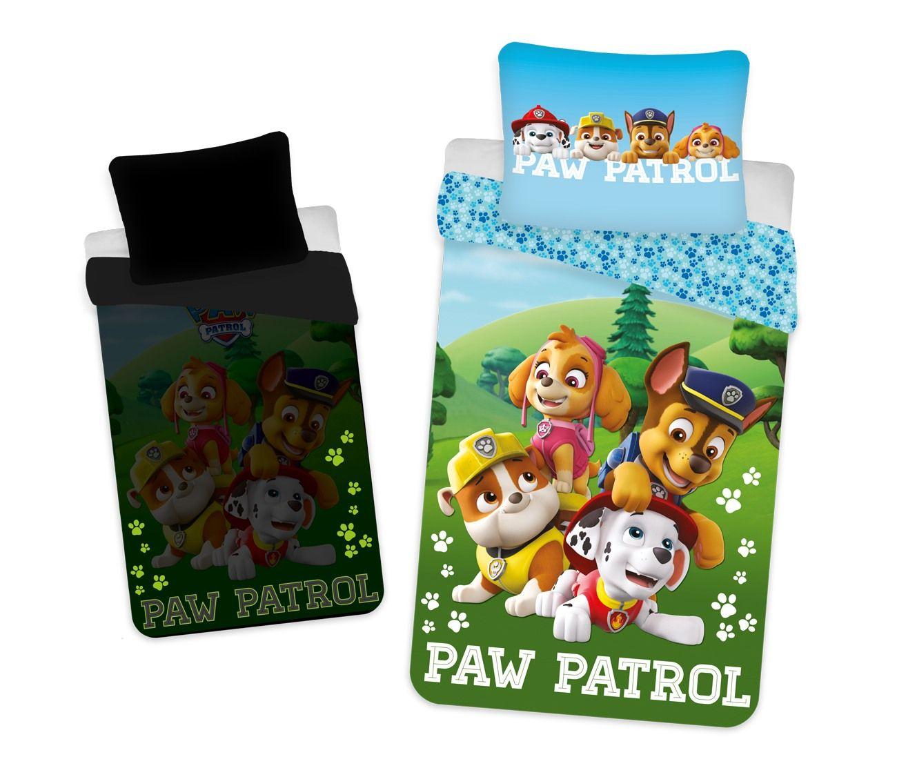 Bavlněné dětské povlečení Paw Patrol 203 svítící efekt, Jerry Fabrics