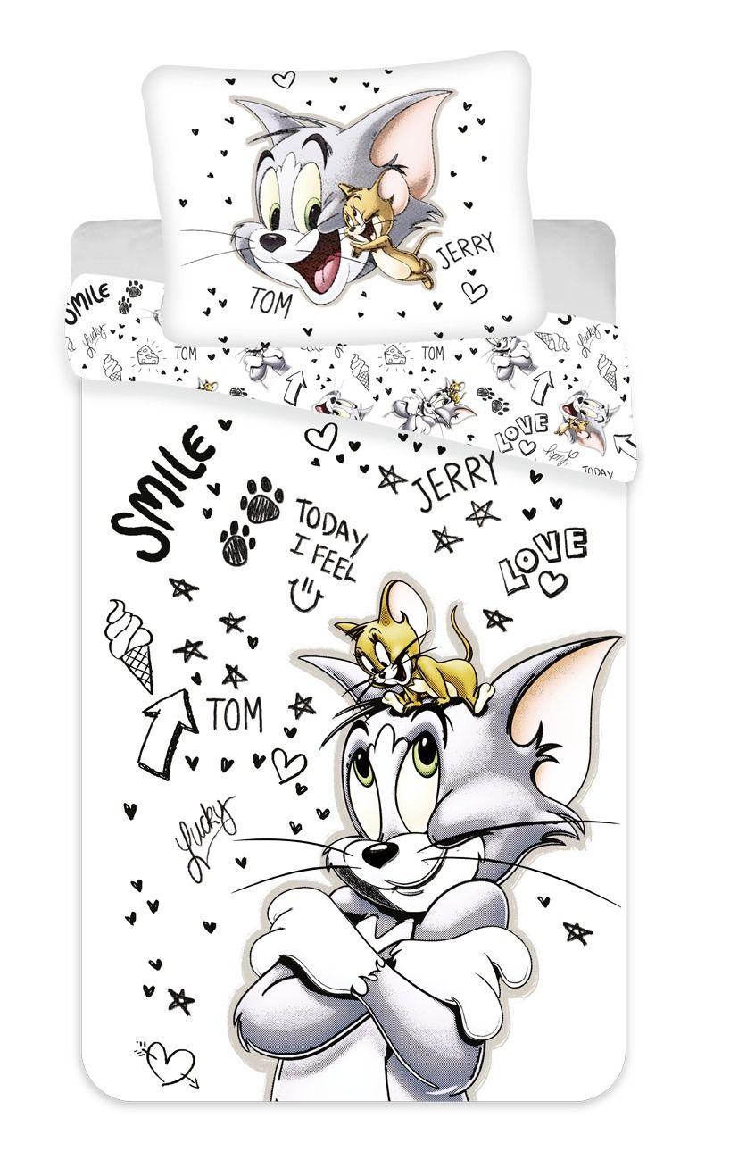 Povlečení Tom & Jerry 034 Jerry Fabrics