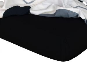 Kvalitní napínací jersey prostěradlo českého výrobce černé barvy, | rozměr 60x120 cm., rozměr 80x200 cm., rozměr 90x200 cm., rozměr 100x200 cm., rozměr 120x200 cm., rozměr 140x200 cm., rozměr 160x200 cm., rozměr 180x200 cm., rozměr 200x200 cm., rozměr 200x220 cm., rozměr 100x220 cm., rozměr 120x220 cm., rozměr 140x220 cm., rozměr 160x220 cm., rozměr 180x220 cm., rozměr 220x220 cm., rozměr 35x75 cm., rozměr 80x140 cm., rozměr 80x220 cm., rozměr 90x220 cm.