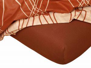 Kvalitní napínací jersey prostěradlo českého výrobce nugátové barvy,   rozměr 60x120 cm., rozměr 80x200 cm., rozměr 90x200 cm., rozměr 100x200 cm., rozměr 120x200 cm., rozměr 140x200 cm., rozměr 160x200 cm., rozměr 180x200 cm., rozměr 200x200 cm., rozměr 200x220 cm., rozměr 100x220 cm., rozměr 120x220 cm., rozměr 140x220 cm., rozměr 160x220 cm., rozměr 180x220 cm., rozměr 220x220 cm., rozměr 35x75 cm., rozměr 80x140 cm., rozměr 80x220 cm., rozměr 90x220 cm.