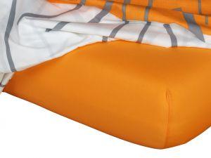 Kvalitní napínací jersey prostěradlo českého výrobce pomerančové barvy, | rozměr 60x120 cm., rozměr 70x140 cm., rozměr 80x200 cm., rozměr 90x200 cm., rozměr 100x200 cm., rozměr 120x200 cm., rozměr 140x200 cm., rozměr 160x200 cm., rozměr 180x200 cm., rozměr 200x200 cm., rozměr 200x220 cm., rozměr 100x220 cm., rozměr 120x220 cm., rozměr 140x220 cm., rozměr 160x220 cm., rozměr 180x220 cm., rozměr 220x220 cm., rozměr 35x75 cm., rozměr 80x140 cm., rozměr 80x220 cm., rozměr 90x220 cm.