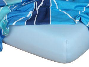 Kvalitní napínací jersey prostěradlo českého výrobce světle modré barvy,   rozměr 60x120 cm., rozměr 70x140 cm., rozměr 80x200 cm., rozměr 90x200 cm., rozměr 100x200 cm., rozměr 120x200 cm., rozměr 140x200 cm., rozměr 160x200 cm., rozměr 180x200 cm., rozměr 200x200 cm., rozměr 200x220 cm., rozměr 100x220 cm., rozměr 120x220 cm., rozměr 140x220 cm., rozměr 160x220 cm., rozměr 180x220 cm., rozměr 220x220 cm., rozměr 35x75 cm., rozměr 80x140 cm., rozměr 80x220 cm., rozměr 90x220 cm.