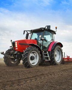 """Mikroflanelová dětská deka Traktor """"Red""""   120x150 cm"""