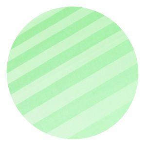 Povlečení atlas grádl zelený proužek 2,5 cm | 140x200, 70x90 cm