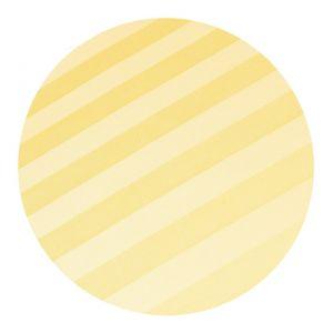 Povlečení atlas grádl světle žlutý proužek 2,5 cm | 140x200, 70x90 cm