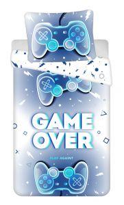 Povlečení fototisk Game over | 140x200, 70x90 cm