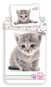Povlečení fototisk Kitten colour