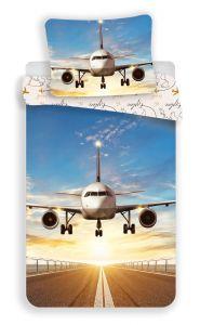 """Povlečení fototisk Letadlo """"Explore the world"""""""