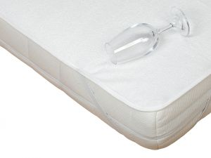 Kvalitní matracový chránič s PU bambus - nepropustný a prodyšný, | rozměr 60x120 cm.