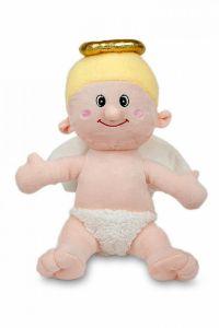 Krásná plyšová hračka Anděl,   27 cm