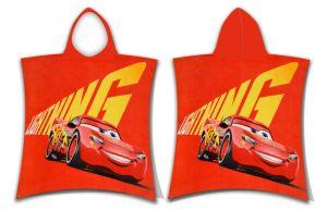"""Dětské pončo pro malé závodníky Cars """"McQueen""""   50x115 cm"""