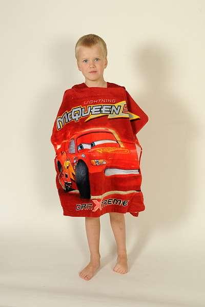 Dětské pončo Cars 2014