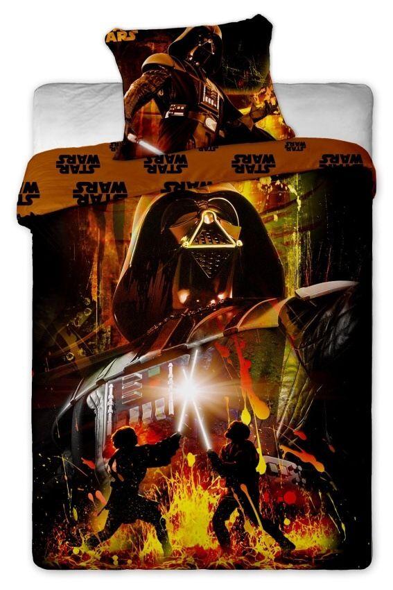 Povlečení bavlněné Star Wars Darth Vader