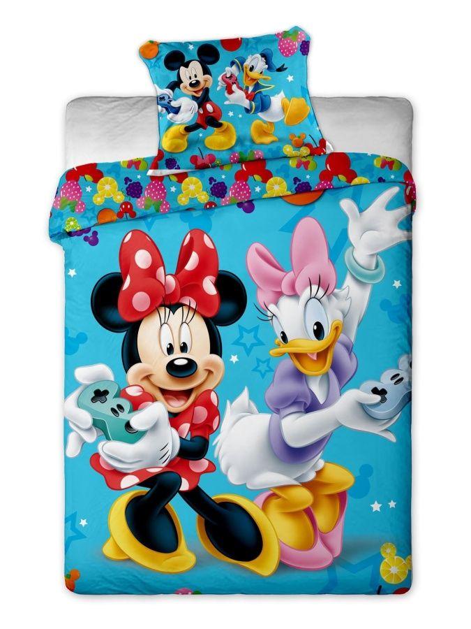 Disney - Mickey and Minnie games bavlněné povlečení