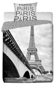 Bavlněné povlečení fototisk Paris Eifelovka