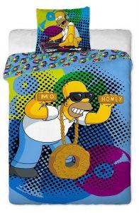Bavlněné povlečení Simpsons - Homer DJ 2015