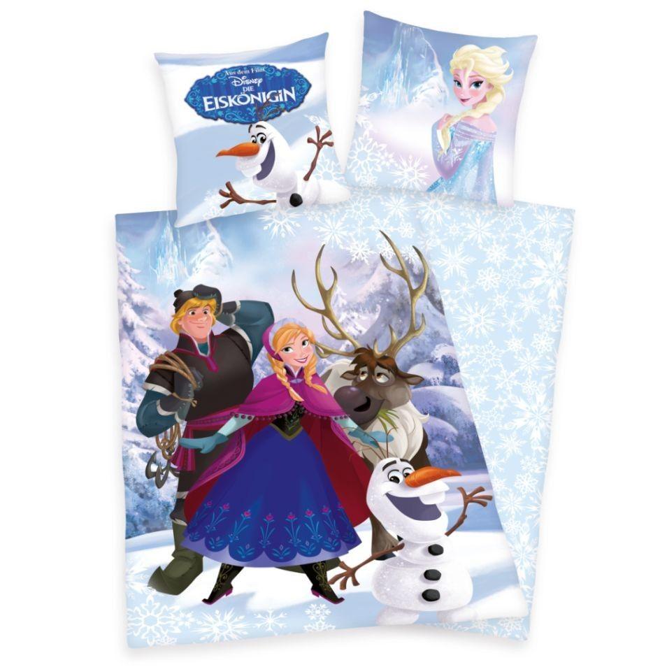 Bavlněné ložní povlečení Ledové království - Anna a Kristoff
