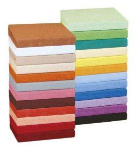 barevné kombinae froté prostěradel